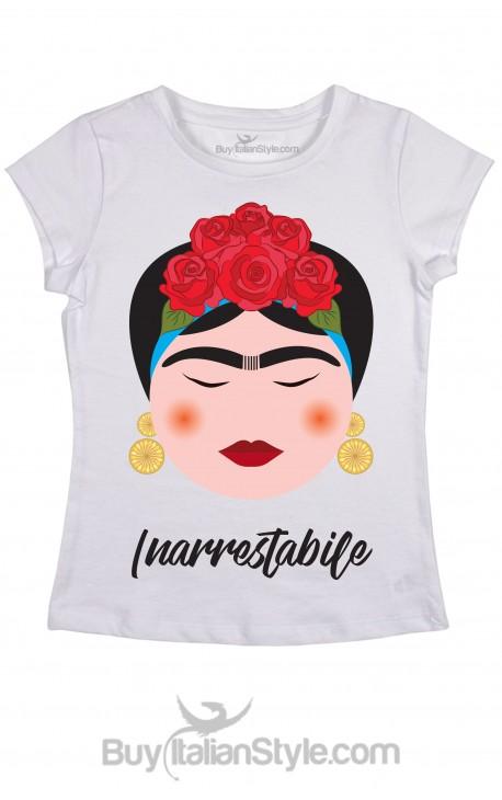 T-shirt Donna Frida Inarrestabile