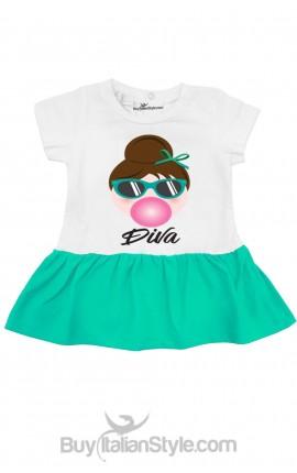 "Girl's Dress Audrey ""Small DIVA"""
