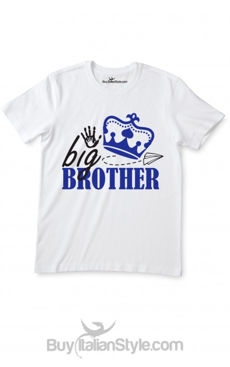 """Baby T-shirt with """"Big-Brother"""""""