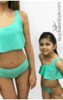 """Baby & Girl Ruffle Swimsuit """"REBEL"""""""
