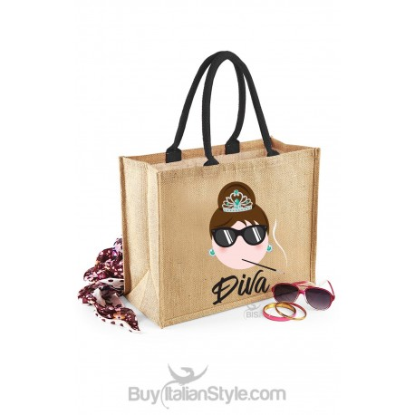 Borsa Mare fashion stampa coco chic