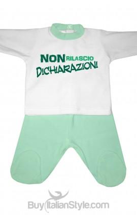 """Tutina neonata """"non rilascio dichiarazioni"""""""