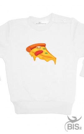 """Felpa bimbo """"Pezzo di pizza"""""""