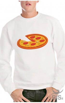 Felpa uomo pizza