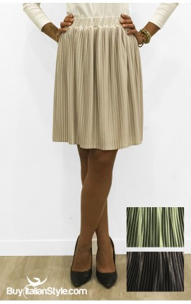 Woman pleated Skirt