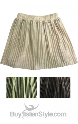 Baby girl pleated skirt