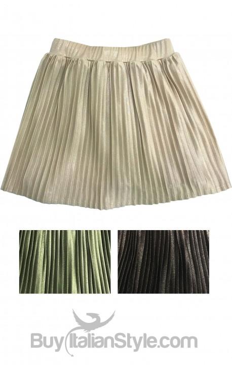 Baby girl pleated skirt