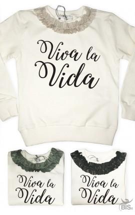 """Sweatshirt """"Viva la Vida"""""""