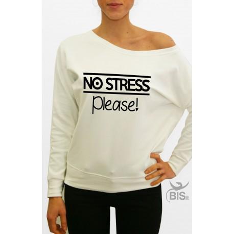Felpa donna no stress please