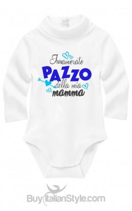 Bis abbigliamento neonato body innamorato pazzo della ia mamma