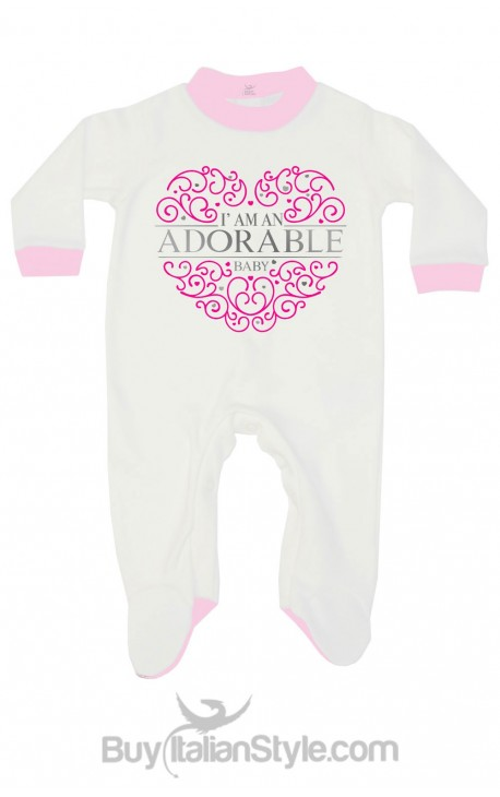 """Tutina neonata """"I'm an adorable baby"""""""