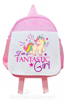 Personalized Preschool Backpack UNICORN