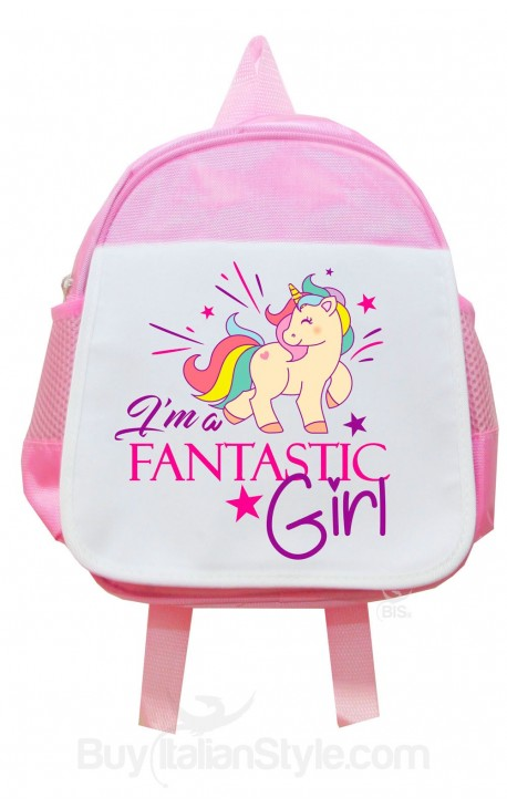Personalized Preschool Backpack UNICORN