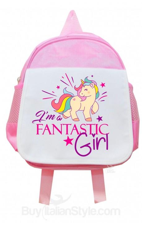 Zaino Bambino UNICORNO I'm Fantastic Girl