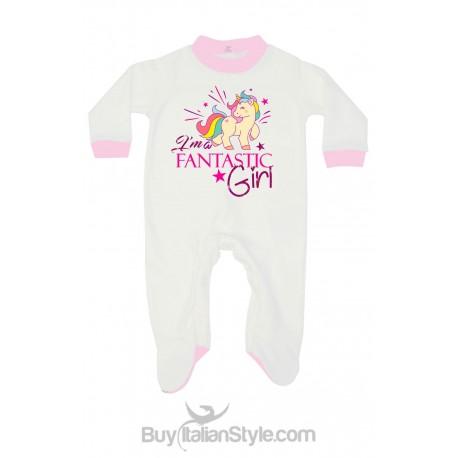 Tutina neonata unicorno