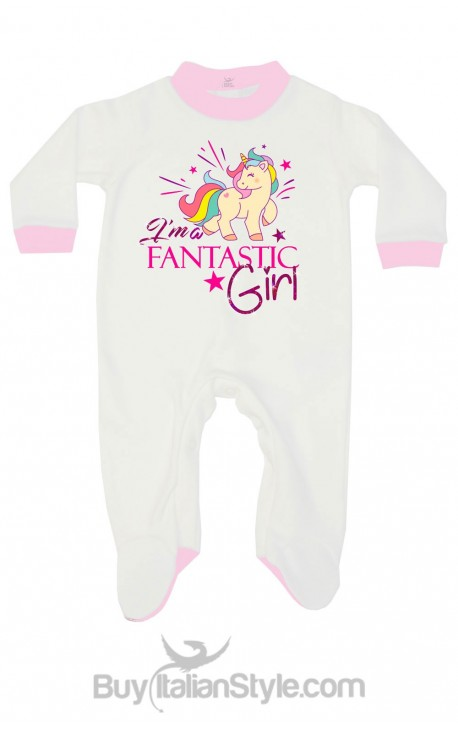 """Tutina neonata """"I'm fantastic Girl"""""""