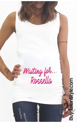 Customizable maternity tank top