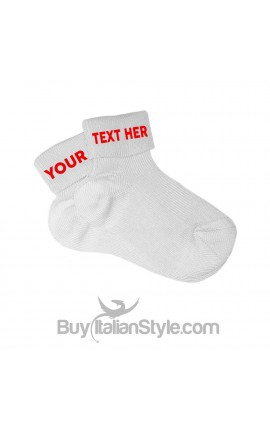 Socks with double personalization