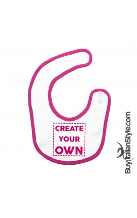 "Personalized Baby Bib ""CREATE YOUR OWN"""