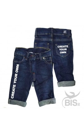 Customizable baby jeans