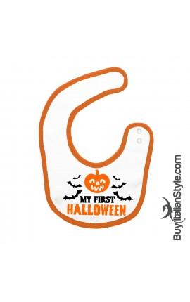 "Baby Bib ""My First Halloween"""