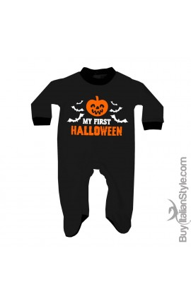 "Baby Romper ""My First Halloween!"""