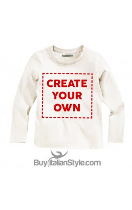 Long Sleeve T-shirt PERSONALIZED with text