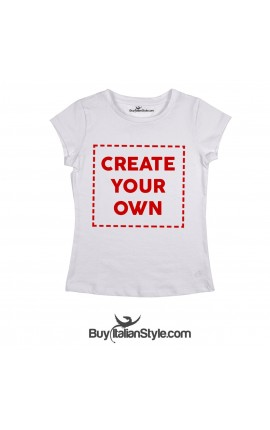 "Personalized Women's T-Shirt ""Create your Own"""
