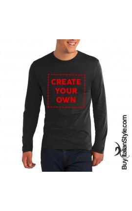 PERSONALIZABLE Men's Long Sleeve T-shirt