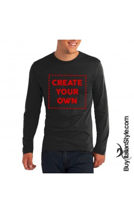 PERSONALIZABLE Men's Long Sleeve T-shirt