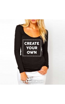 CUSTOMIZED Basic long sleeve t-shirt