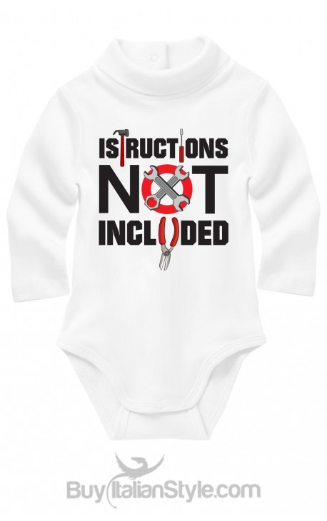 "Turtleneck body suit ""instructions not included"""