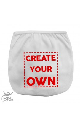 "Personalized Diaper Cover ""Create your own"""