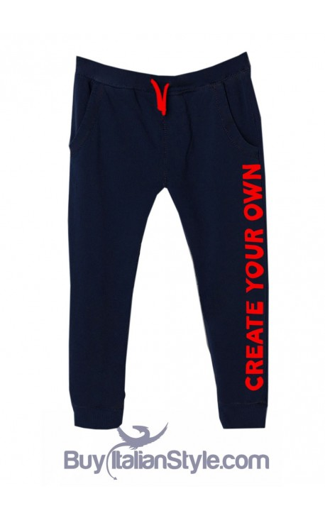 "Custom Boys' Trousers ""Your Text Here"""