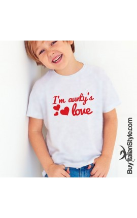 "Short Sleeve T-Shirt ""I'm Aunty's Love"""