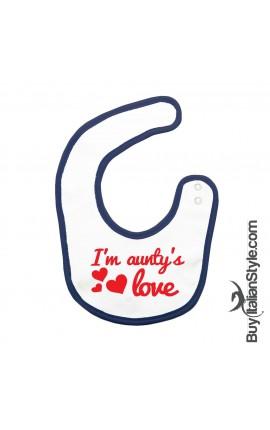 "Bibs ""I am aunty's love"""