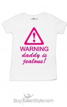 T-shirt bimba festa del papà