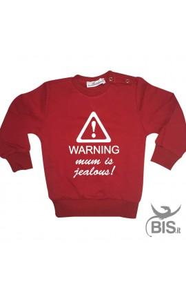 "Baby Sweater ""Warning Mum Is Jealous"""