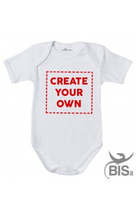 "Personalized Baby Bodysuit ""CREATE YOUR OWN"""
