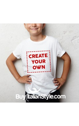 Personalized T-shirt for boys and girls