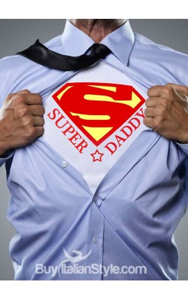"Men's T-shirt ""Super Dad"""