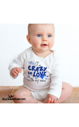 "Bodysuit ""I'm crazy in love with my mom"""