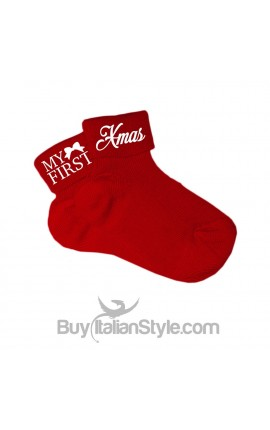 Cotton socks My first Christmas