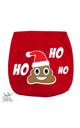 HO HO HO cover-diaper