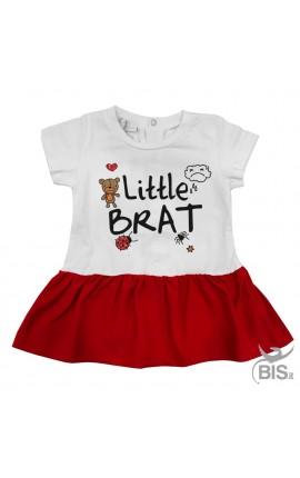 "Baby dress ""little brat"""
