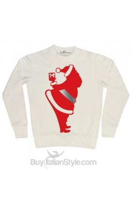 Men's Sweatshirt crew-neck Father Christmas