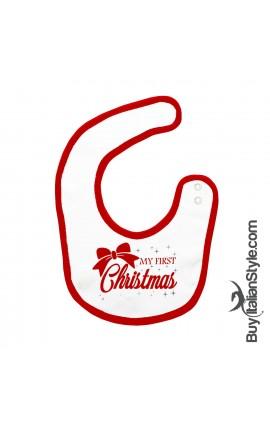 "Bib ""my first christmas"""