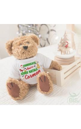 Peluches Personalizzabile natalizio Orsacchiotto -Elefante e Scimmia
