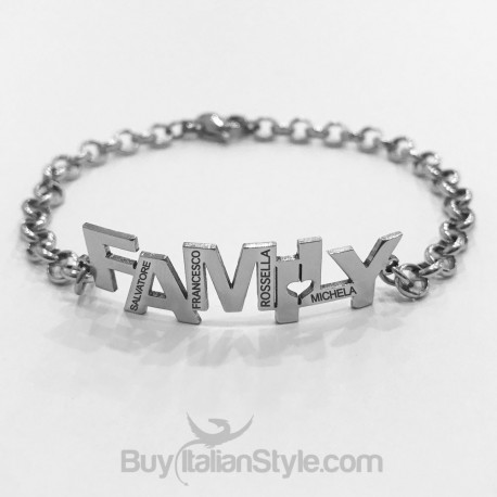 Customizable FAMILY bracelet