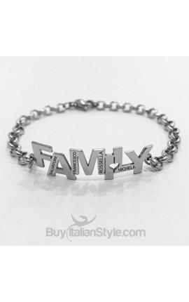 Bracciale FAMILY personalizzabile